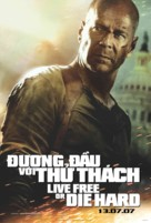 Live Free or Die Hard - Vietnamese Movie Poster (xs thumbnail)
