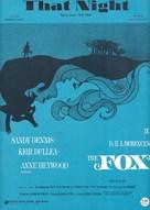 The Fox - Movie Poster (xs thumbnail)