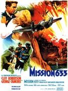 633 Squadron - French Movie Poster (xs thumbnail)