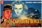 Le Capitaine Benoît - French Movie Poster (xs thumbnail)