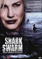 Shark Swarm - Turkish Movie Poster (xs thumbnail)