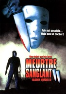 Bloody Murder 2: Closing Camp - French DVD cover (xs thumbnail)