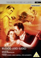 Blood and Sand - British DVD movie cover (xs thumbnail)