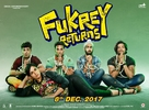 Fukrey Returns - Indian Movie Poster (xs thumbnail)