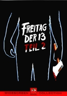 Friday the 13th Part 2 - German DVD movie cover (xs thumbnail)