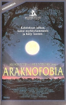 Arachnophobia - Finnish VHS cover (xs thumbnail)