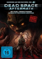 Dead Space: Aftermath - German DVD cover (xs thumbnail)
