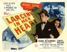 Larceny in Her Heart - Movie Poster (xs thumbnail)