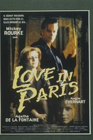 Love in Paris - French Movie Poster (xs thumbnail)