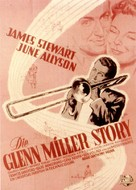 The Glenn Miller Story - German Movie Poster (xs thumbnail)