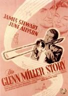 The Glenn Miller Story - German Movie Poster (xs thumbnail)