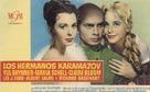 The Brothers Karamazov - Spanish Movie Poster (xs thumbnail)