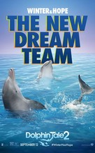 Dolphin Tale 2 - Movie Poster (xs thumbnail)