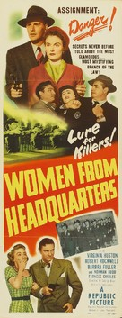 Women from Headquarters - Movie Poster (xs thumbnail)