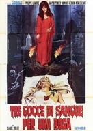 La rose écorchée - Italian Movie Poster (xs thumbnail)