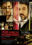 Tesis sobre un homicidio - Spanish Movie Poster (xs thumbnail)