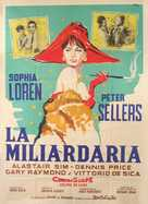 The Millionairess - Italian Movie Poster (xs thumbnail)