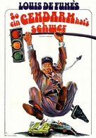 Le gendarme à New York - German Movie Poster (xs thumbnail)