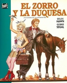 The Duchess and the Dirtwater Fox - Argentinian Movie Cover (xs thumbnail)
