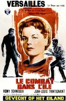 Le combat dans l'île - Belgian Movie Poster (xs thumbnail)
