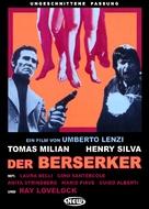 Milano odia: la polizia non può sparare - German DVD cover (xs thumbnail)