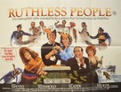 Ruthless People - British Movie Poster (xs thumbnail)