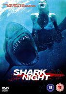Shark Night 3D - British DVD movie cover (xs thumbnail)