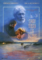 When the Whales Came - Spanish Movie Poster (xs thumbnail)