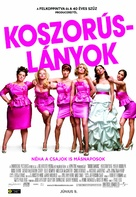 Bridesmaids - Hungarian Movie Poster (xs thumbnail)