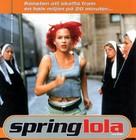 Lola Rennt - Dutch Movie Poster (xs thumbnail)