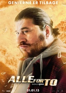 Alle for to - Danish Movie Poster (xs thumbnail)