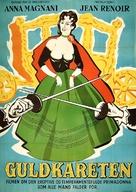 Le carrosse d'or - Danish Movie Poster (xs thumbnail)