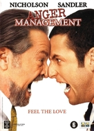 Anger Management - Dutch DVD movie cover (xs thumbnail)
