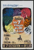7 Faces of Dr. Lao - Belgian Movie Poster (xs thumbnail)
