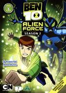"""Ben 10: Alien Force"" - Danish DVD movie cover (xs thumbnail)"