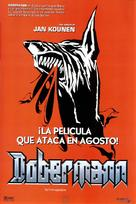 Dobermann - Spanish Movie Poster (xs thumbnail)