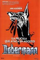 Dobermann - Spanish Movie Poster (xs thumbnail)