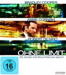 Limitless - German Blu-Ray cover (xs thumbnail)