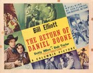 The Return of Daniel Boone - Movie Poster (xs thumbnail)