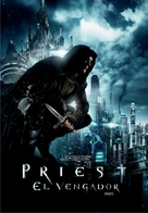 Priest - Argentinian DVD movie cover (xs thumbnail)