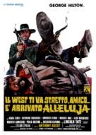 Il West ti va stretto, amico... è arrivato Alleluja - Italian Movie Poster (xs thumbnail)