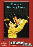 Flame of Barbary Coast - British DVD cover (xs thumbnail)