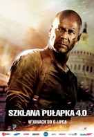 Live Free or Die Hard - Polish Movie Poster (xs thumbnail)