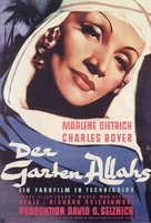 The Garden of Allah - German Movie Poster (xs thumbnail)