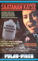 Cry of the Banshee - Finnish VHS movie cover (xs thumbnail)