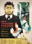 Det tossede paradis - Danish Movie Poster (xs thumbnail)