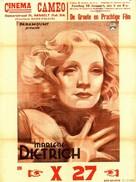 Dishonored - Belgian Movie Poster (xs thumbnail)