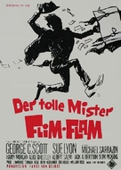 The Flim-Flam Man - German Movie Poster (xs thumbnail)