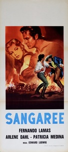 Sangaree - Italian Movie Poster (xs thumbnail)