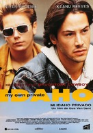 My Own Private Idaho - Spanish Movie Poster (xs thumbnail)